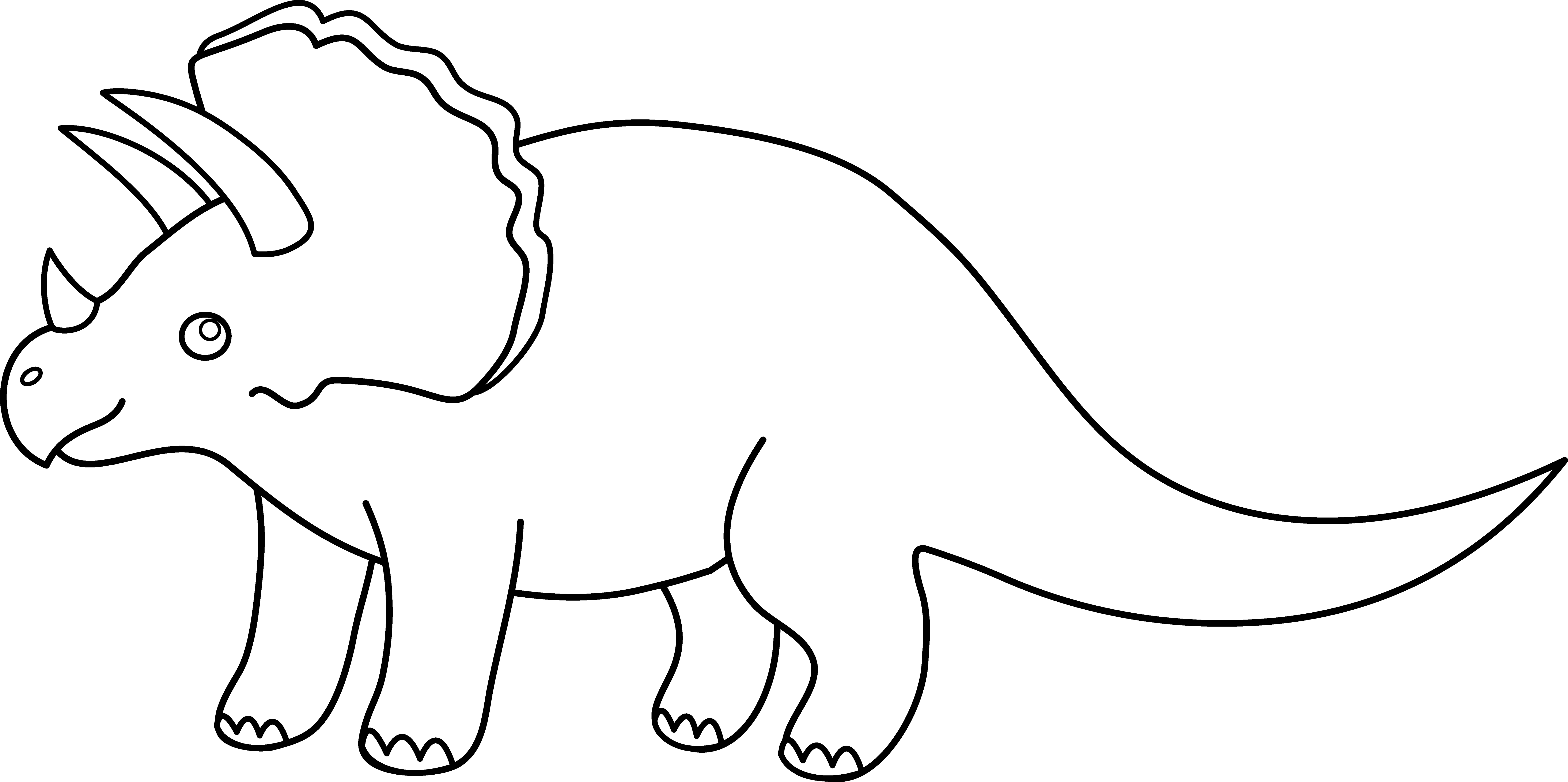 collection of black. Dinosaur clipart easy