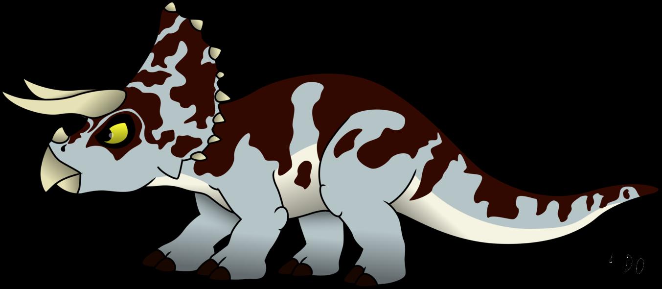 Dinosaur clipart triceratop. Triceratops by rainbowarmas on