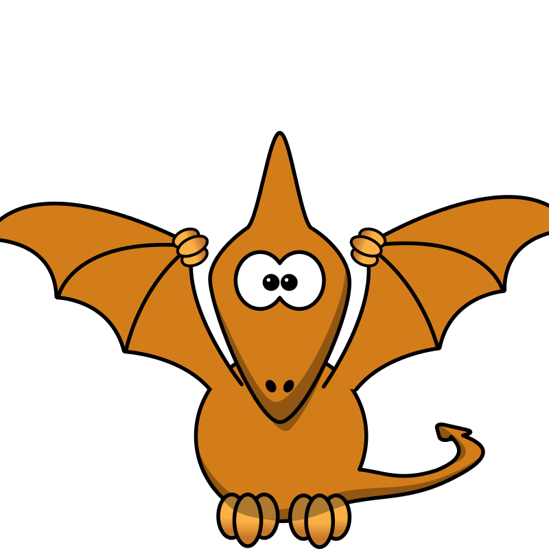 Clipart dinosaur pteranodon. Pterodactyl at getdrawings com