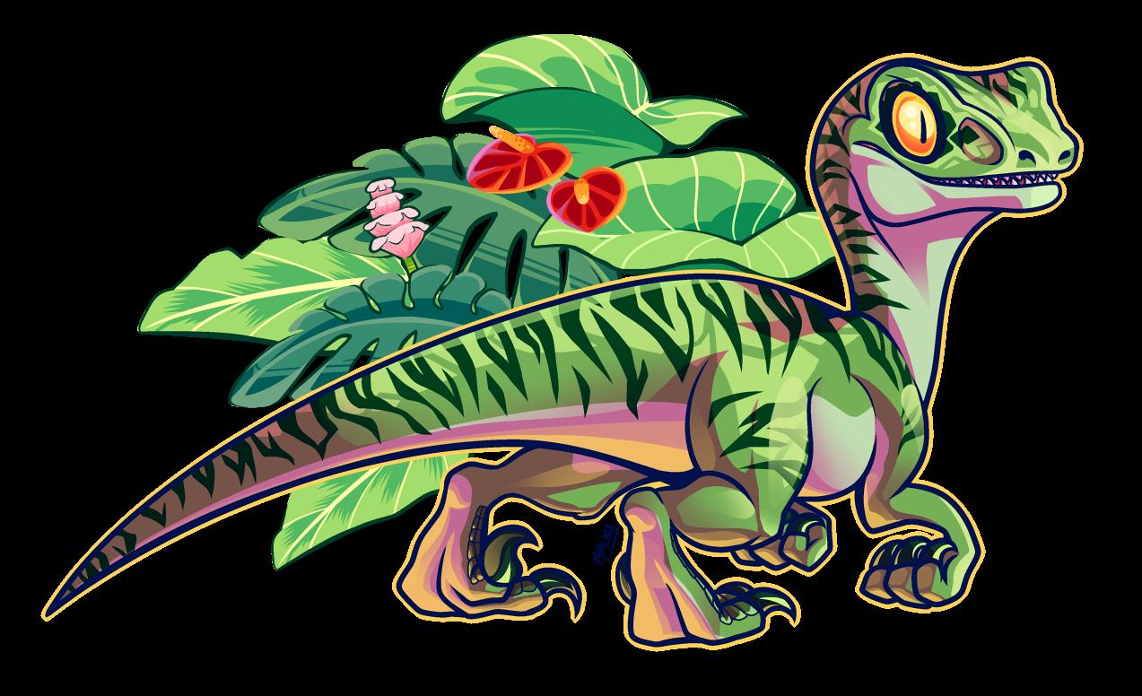 Clipart dinosaur raptor dinosaur. Charlie jurassic park know