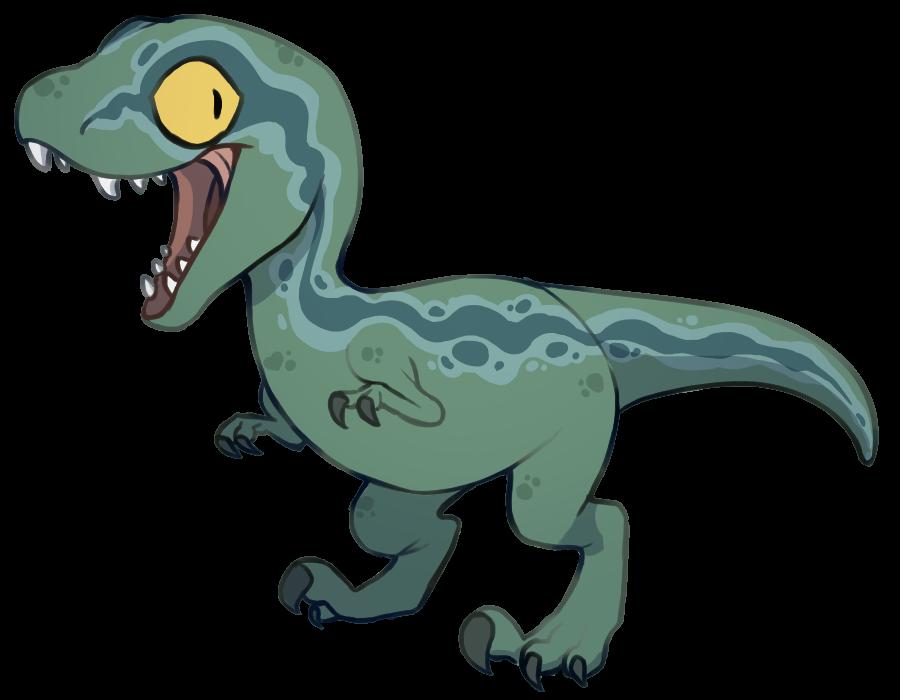 Baby blue jurassic world. Clipart dinosaur raptor dinosaur