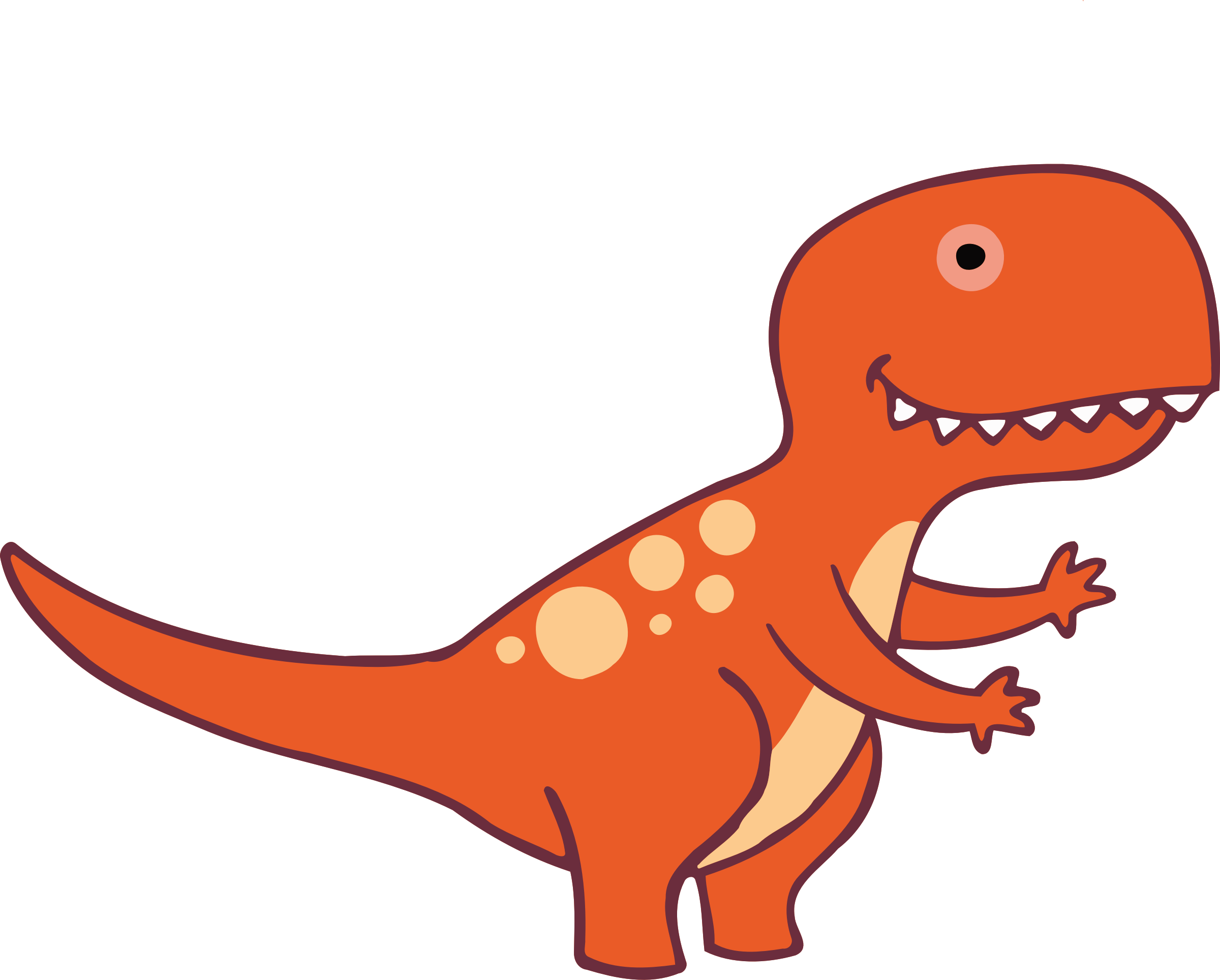 Clipart dinosaur red. Big image png