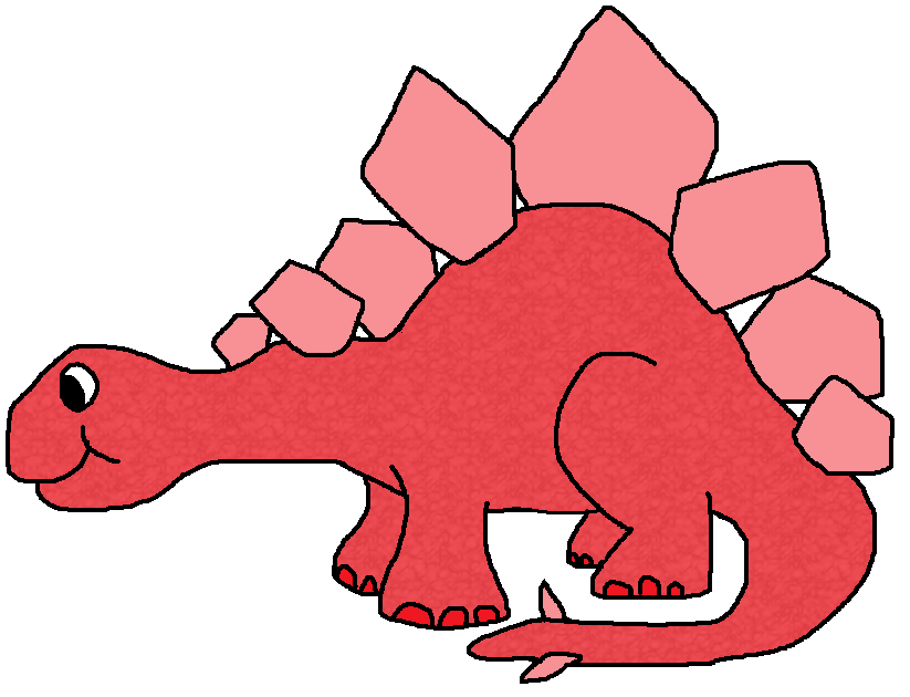 Clipart dinosaur red. Graphics by ruth dinosaurs