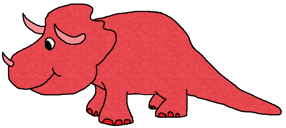 Dinosaur clipart triceratop. Graphics by ruth dinosaurs