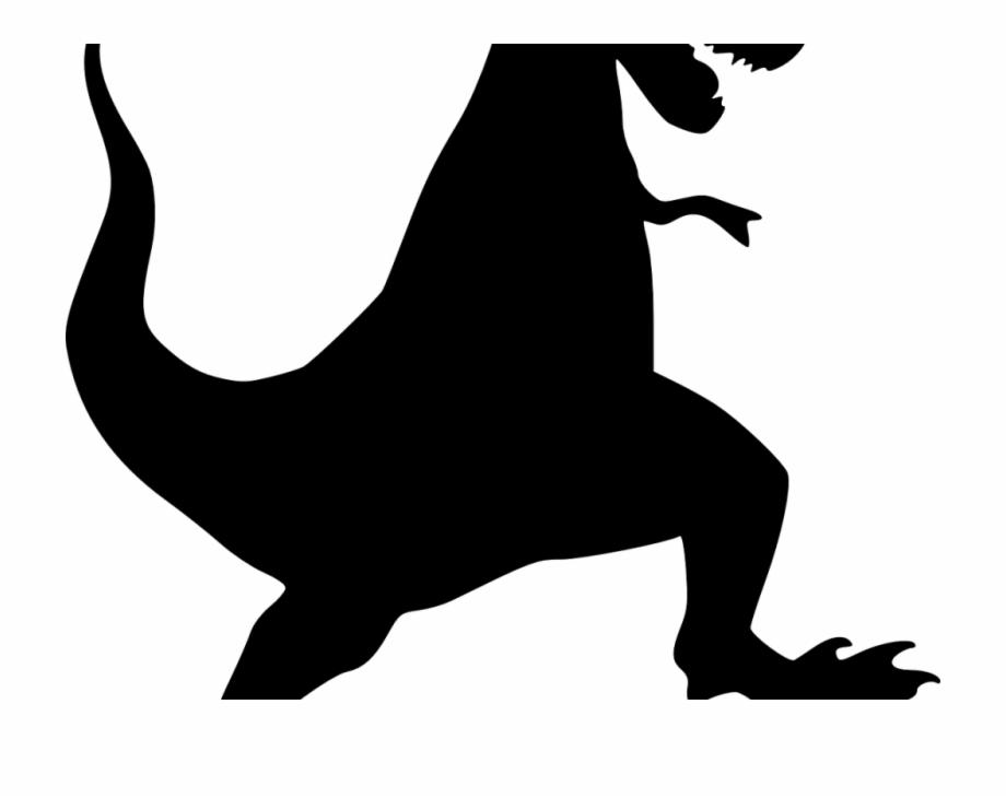 T rex tyrannosaurus png. Clipart dinosaur shadow