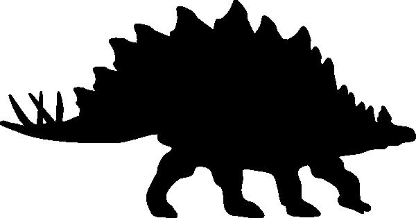 Clipart dinosaur shadow. Stegosaurus clip art at