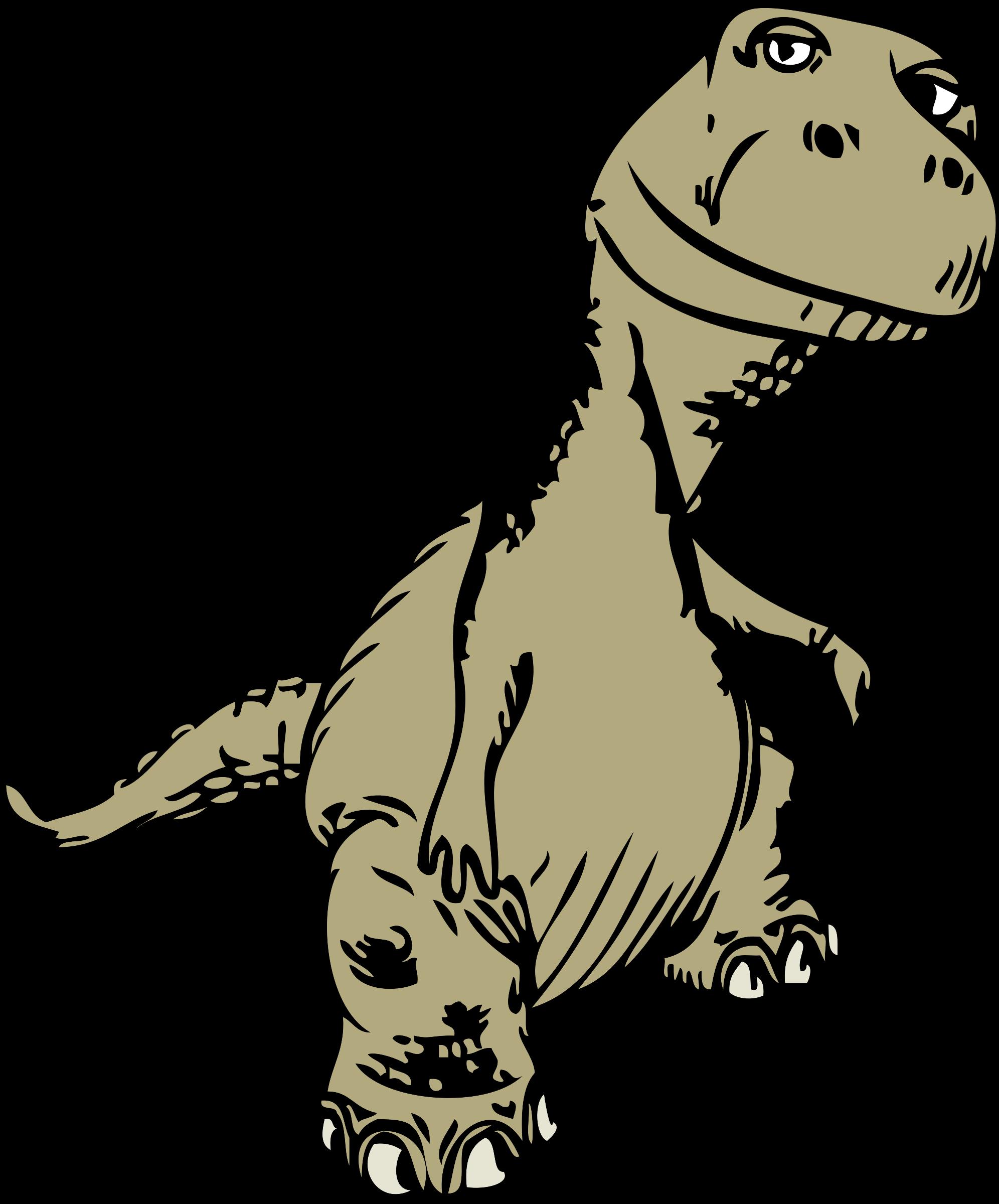 Green clipart t rex. Dinosaur