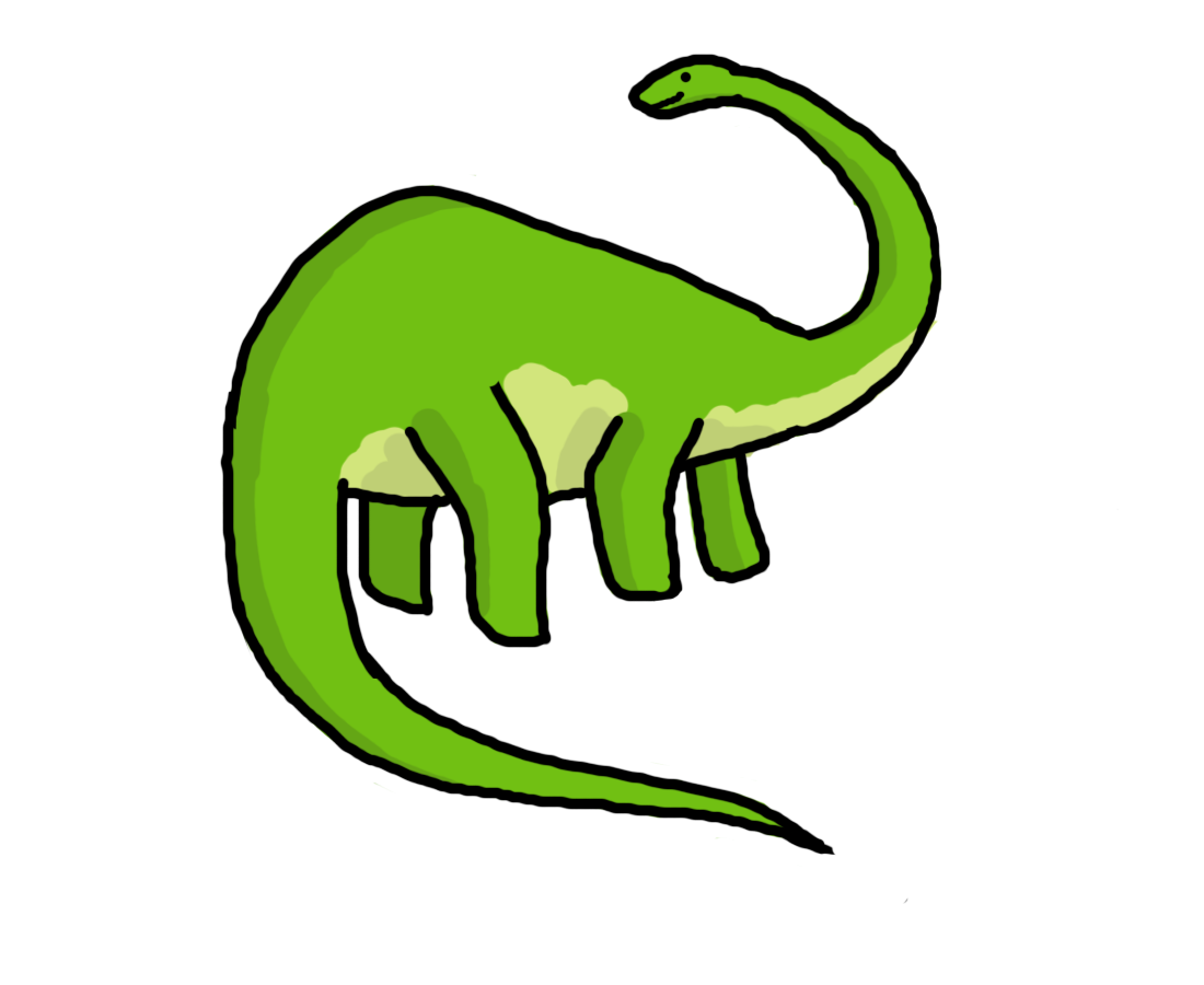 Clipart dinosaur simple.  collection of tail