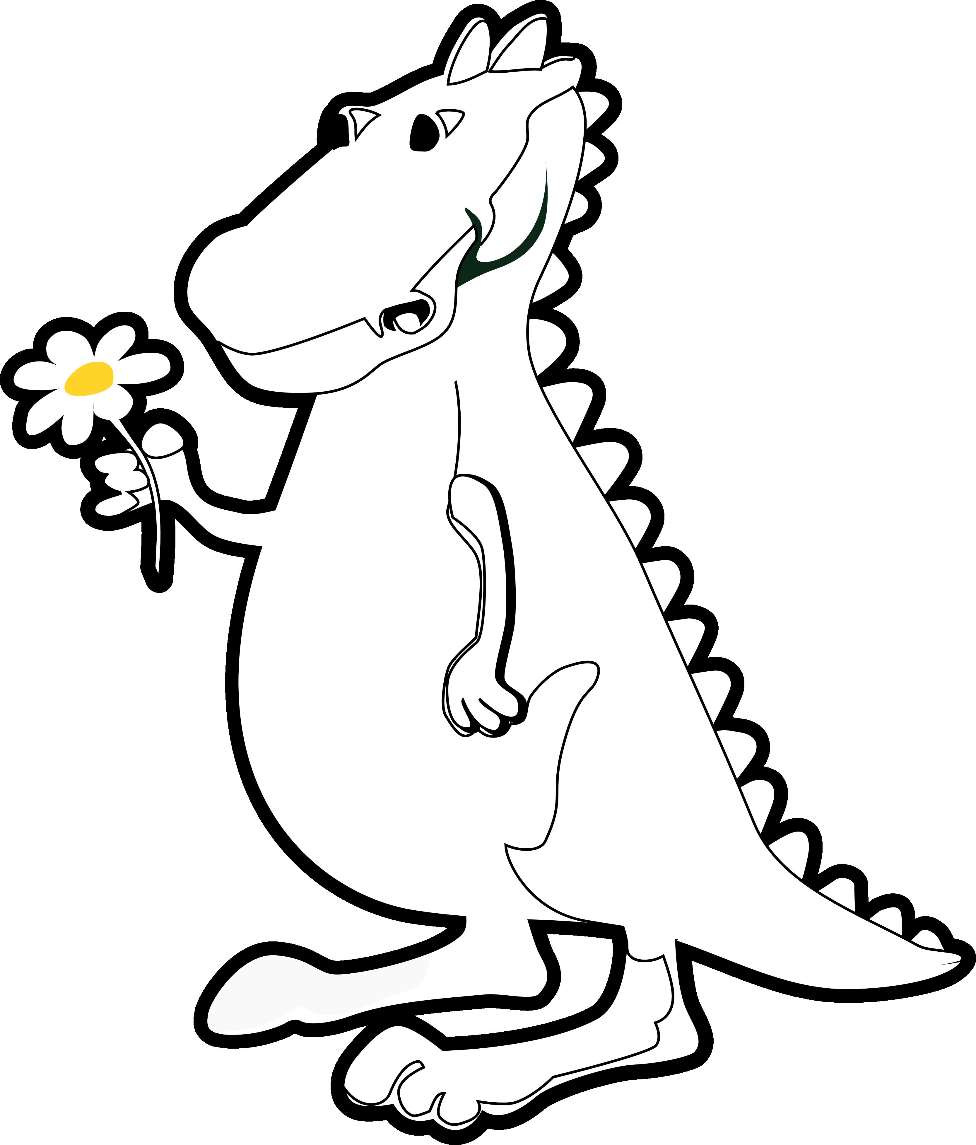 Dinosaurs cartoon drawing at. Wagon clipart coloring page