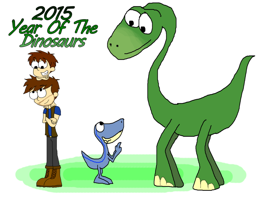 Dinosaurs clipart the good dinosaur. Year of by invaderoffandoms
