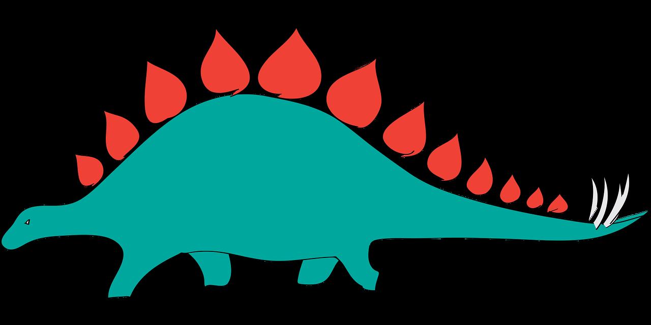 Dinosaur stegasaurus