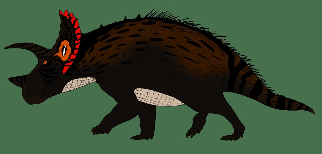 Swamp clipart dinosaur. Triceratops huxley paleozoo animal