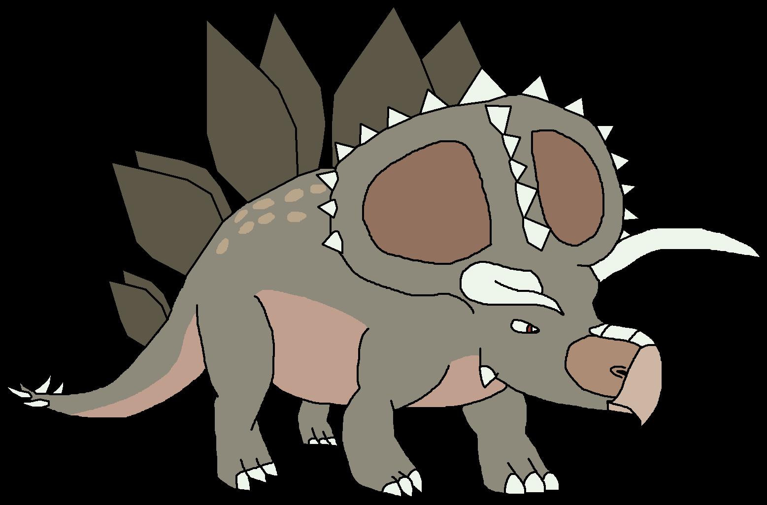 Triceratops clipart. Kostenloser Download. | Creazilla