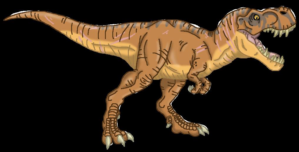 Dinosaur clipart tyrannosaurus rex. Jurassic world by alien