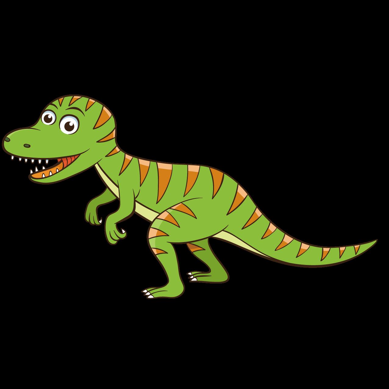 Tyrannosaurus cartoon dinosaur cute. Green clipart t rex