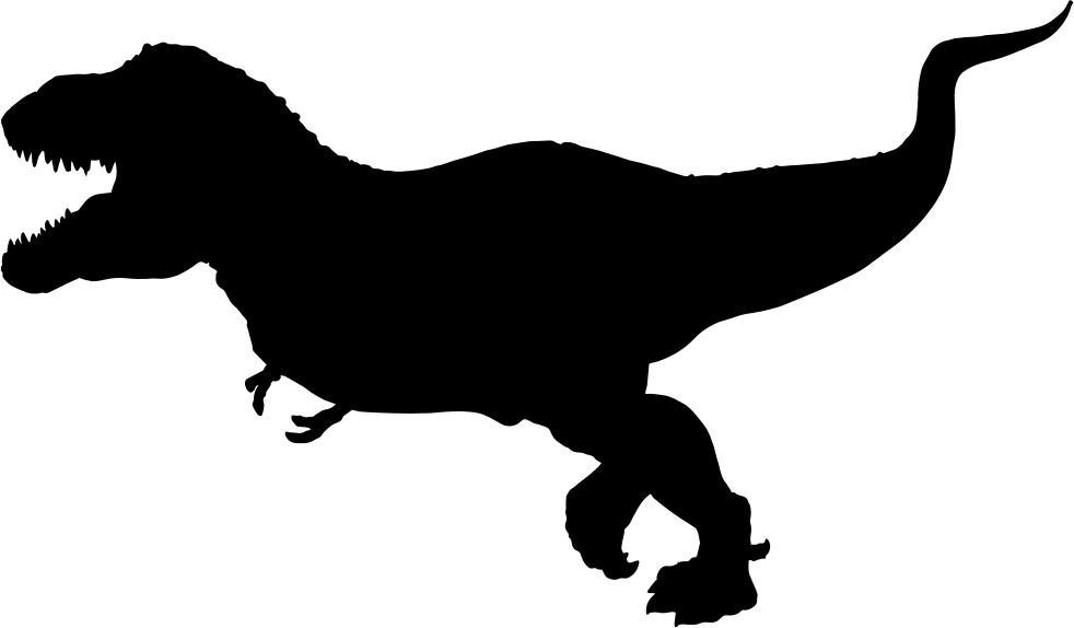 T silhouette clip art. Dinosaur clipart tyrannosaurus rex