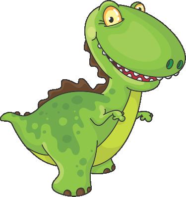 Clipart dinosaur vector. Cartoon free chartacters in