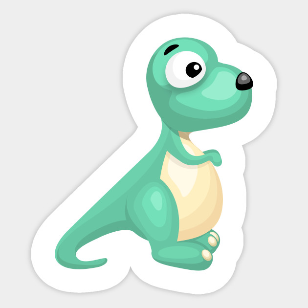 Clipart dinosaur vector. Limited edition exclusive cartoon