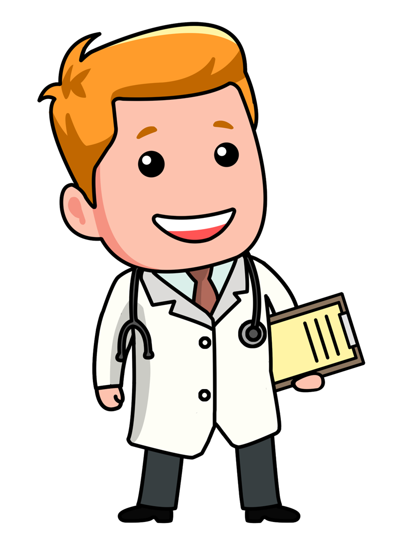 Doctor cartoon clip art. Lady clipart surgeon