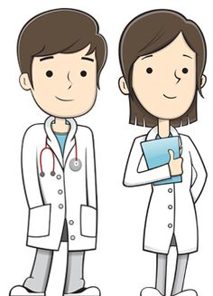 Doctor cartoon clip art. Doctors clipart