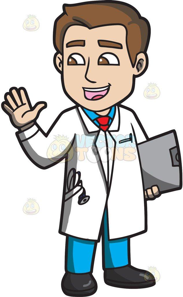 Doctors clipart cartoon. Doctor free download best
