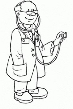 Free cliparts download clip. Doctor clipart black and white