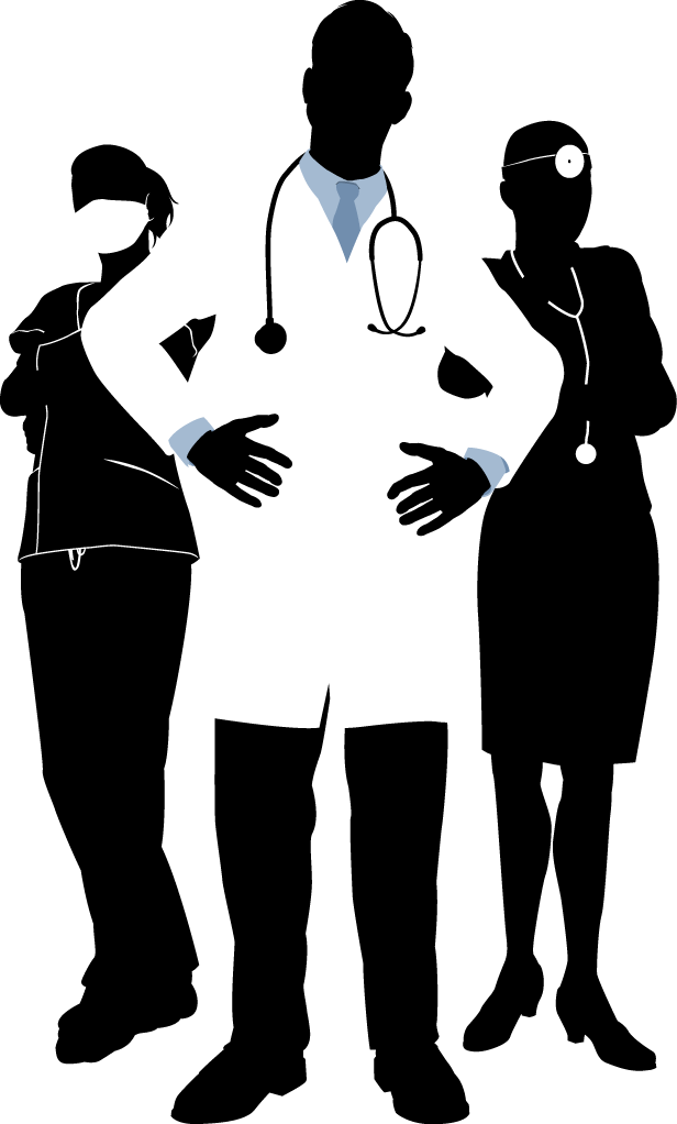 Physician photography illustration doctors. Clipart doctor black and white