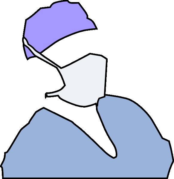 Clipart doctor blue. Clip art at clker