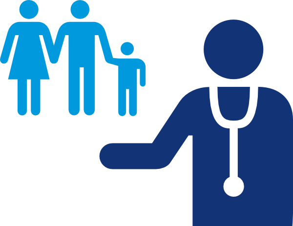 Doctors clipart blue. Doctor and patient clip
