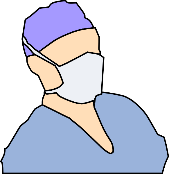 Cartoon doctor mask . Criminal clipart masked robber