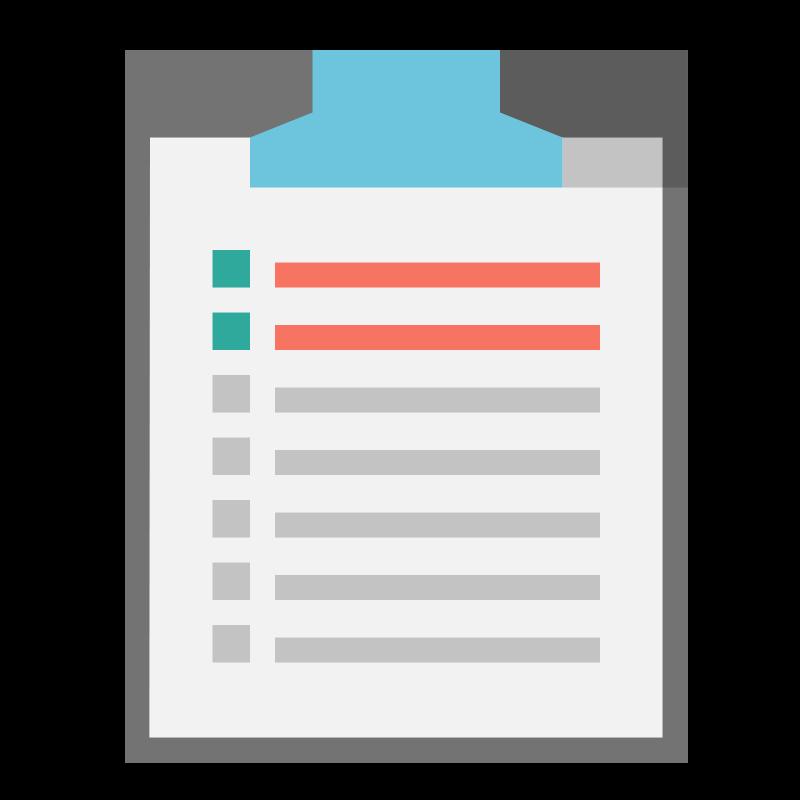 List clipart checklist. Panda free images checklistclipart