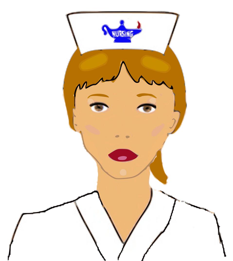 Letter from a nurse. Clipart doctor counselling