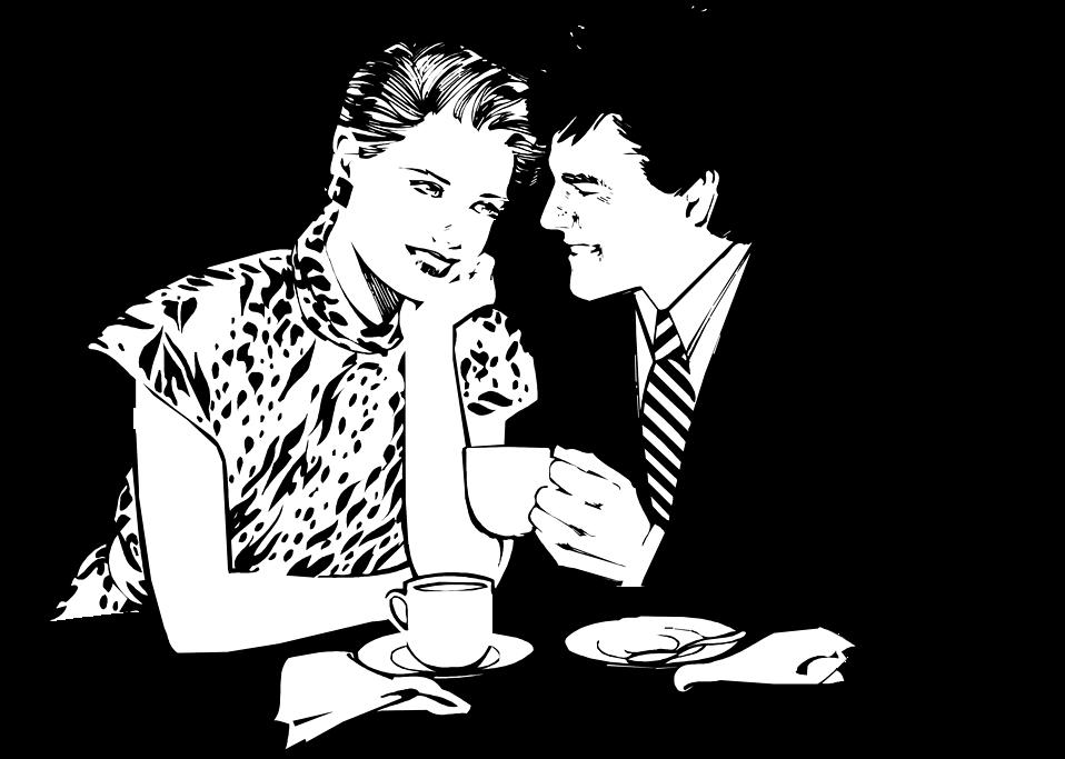 Couple free stock photo. Restaurants clipart romantic dinner