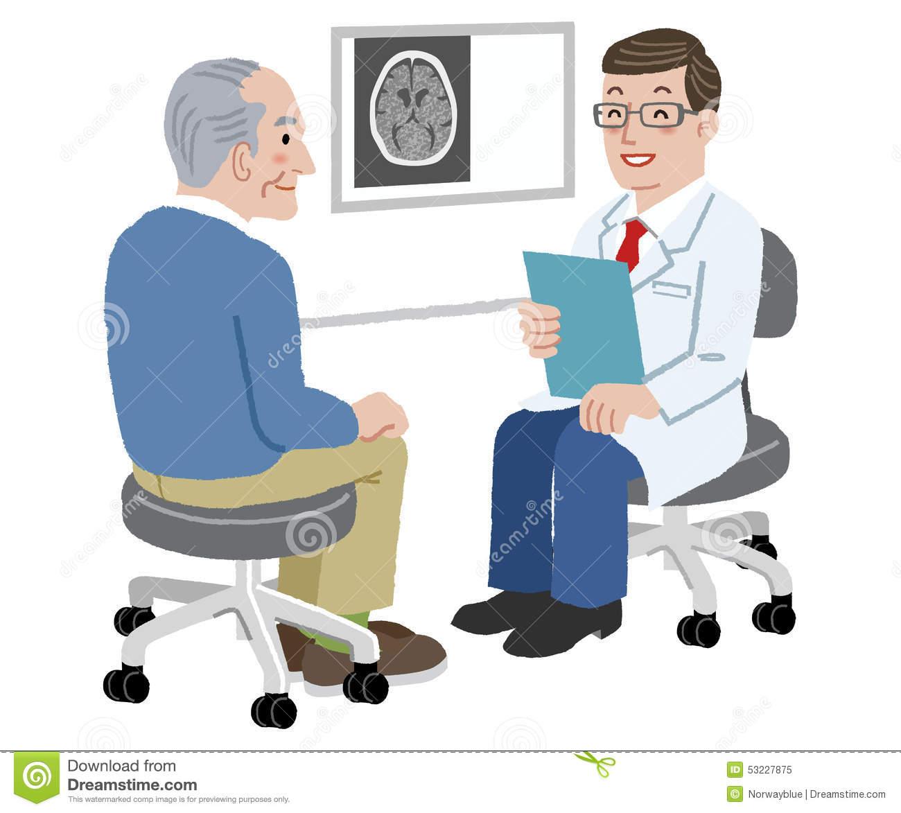 Patient clipart doctor patient communication. Station