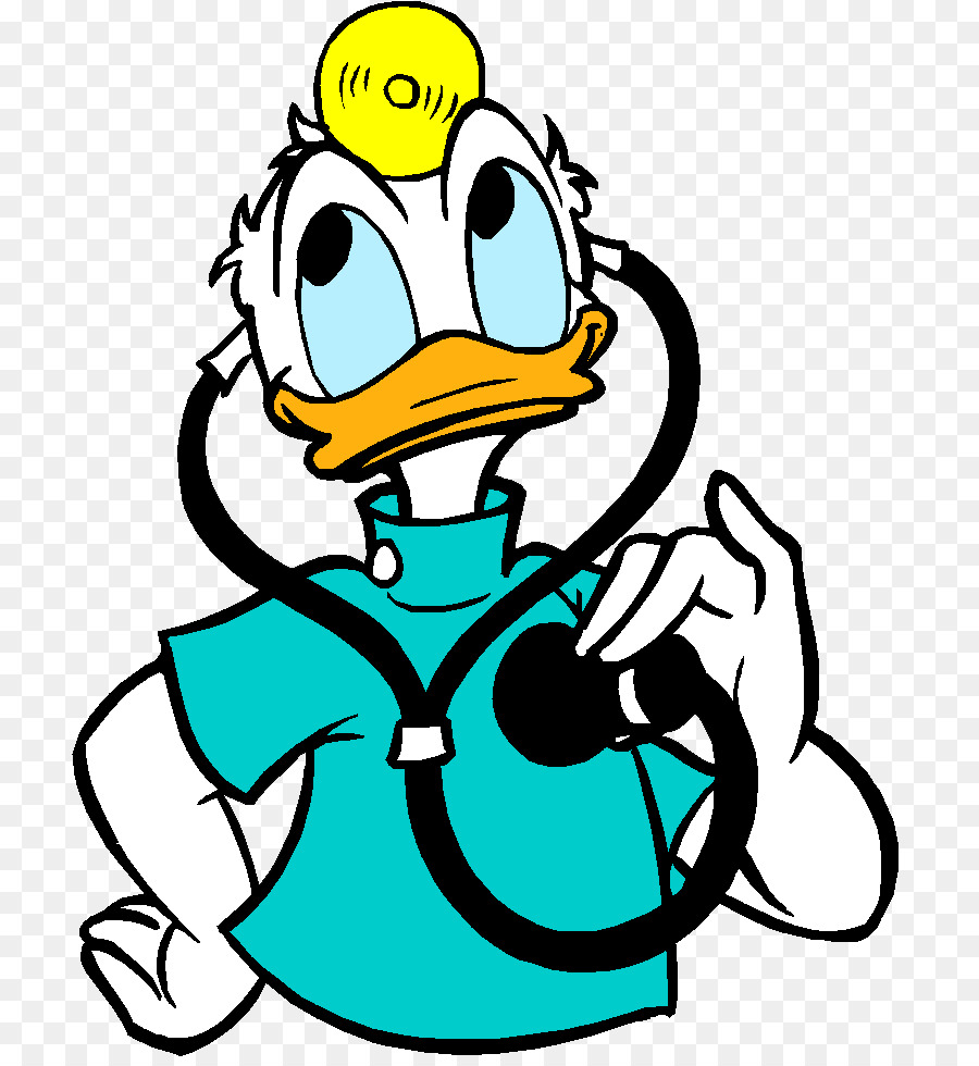 Book black and white. Clipart duck doctor