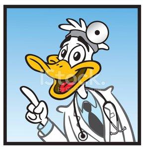 Quack premium clipartlogo com. Clipart duck doctor