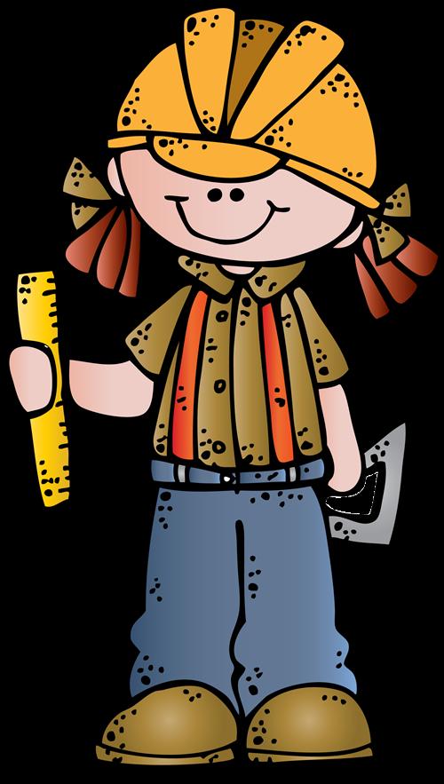 Engineer girl ssb c. Girls clipart construction worker