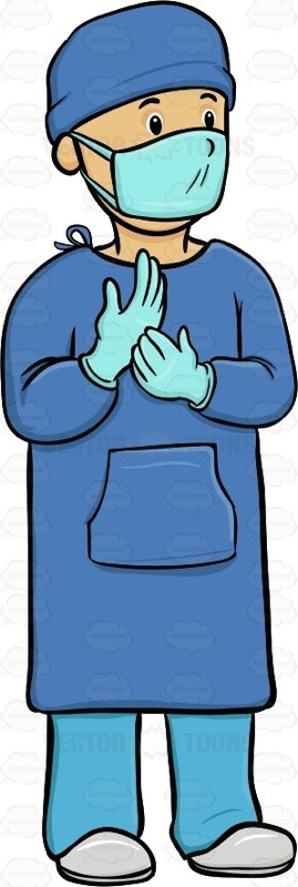 Doctor clipart gown. Free the download clip