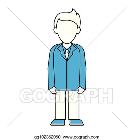 Doctor clipart gown. Vector art with faceless