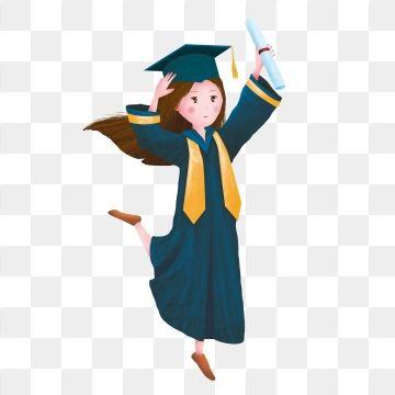 Graduation clipart doctor.  season hat girl
