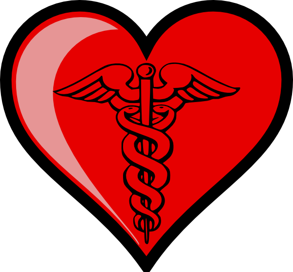 Love clip art at. Heart clipart doctor