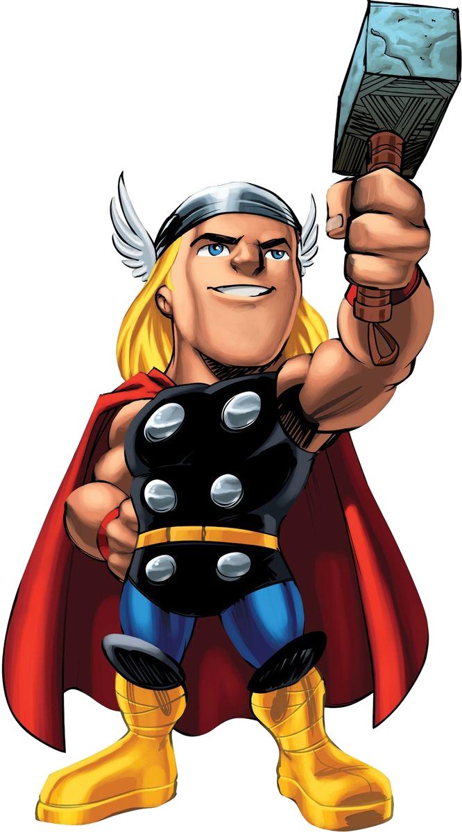 Hammer clipart thor. Renders super hero squad