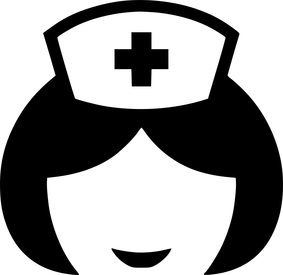 Nurse clipart sign. Doctor svg png icon