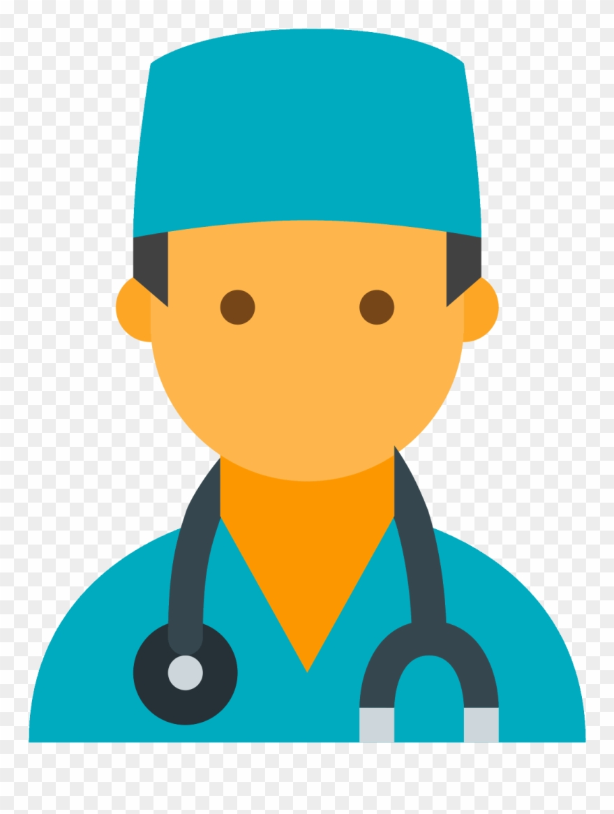 Doctor male transparent background. Doctors clipart icon