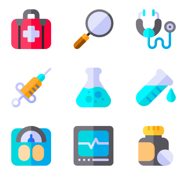 medical instruments packs. Technology clipart technology icon