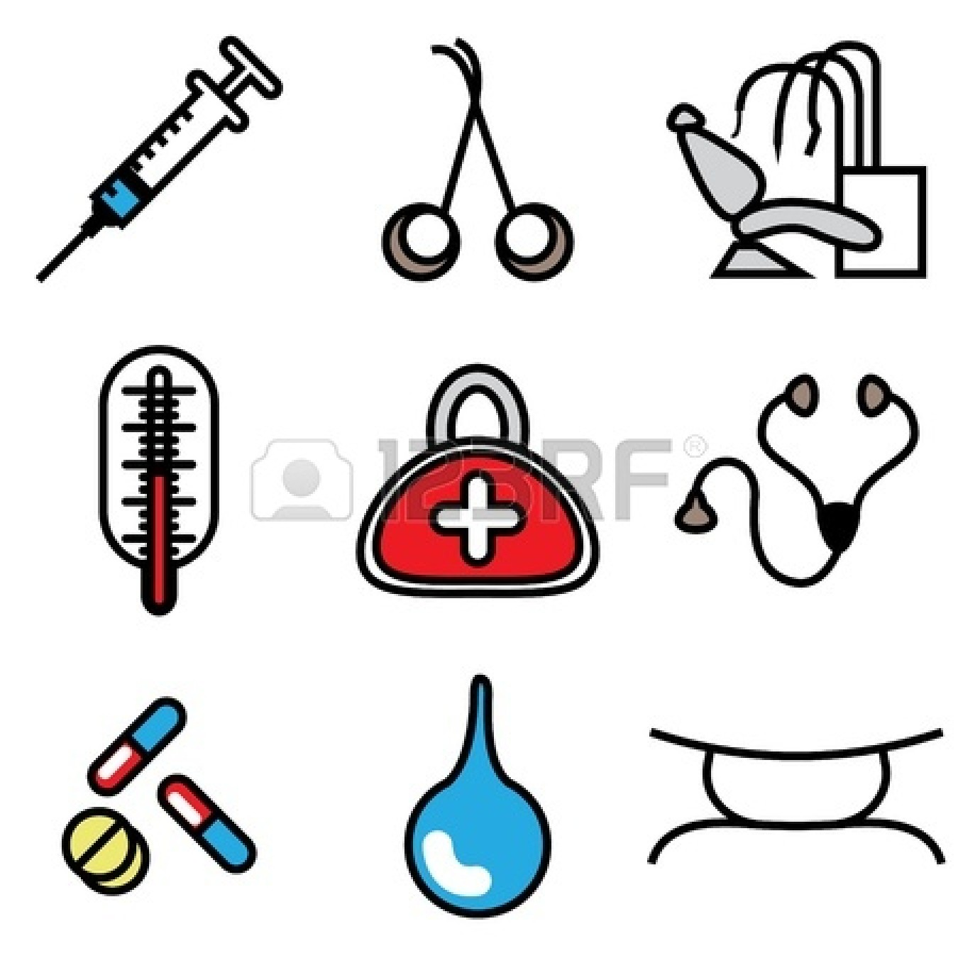 Veterinarian clipart veterinarian tool. Doctor tools free download