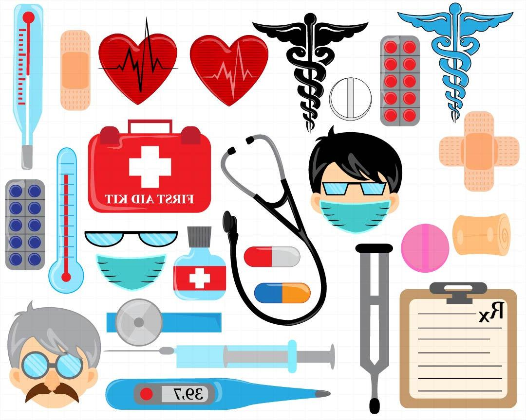 Best clip art drawing. Doctor clipart kit