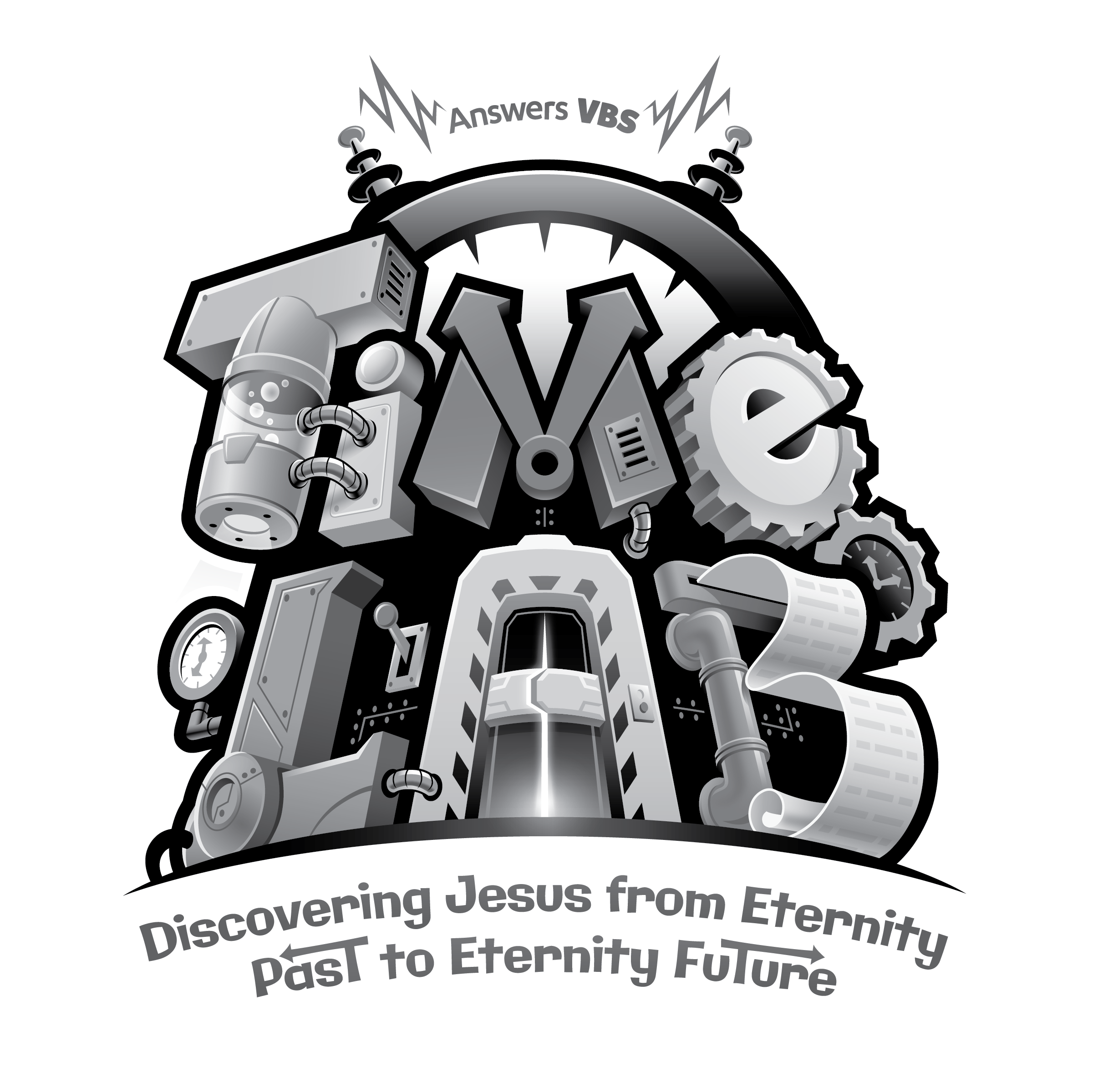 Vbs themes time free. Lab clipart black and white