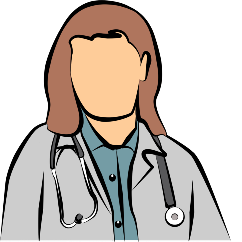 Free hubpicture pin . Clipart doctor lady doctor