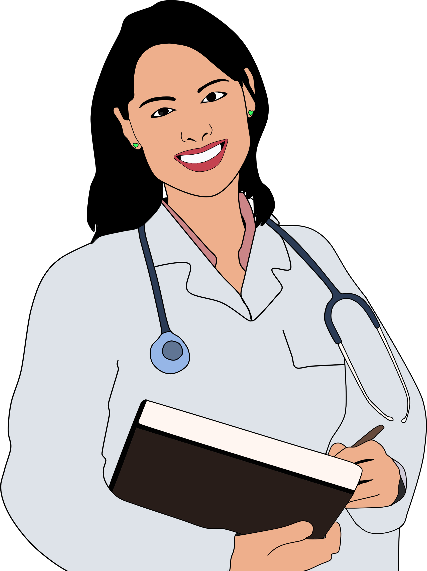 collection of woman. Lady clipart surgeon